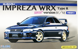 Subaru Impreza WRX Type R STi Version IV / VI  (1995) - Fujimi n° 99