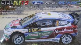 Ford Fiesta WRC - Rally Deutschland (2011) - Belkits 003