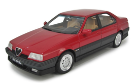 ALFA ROMEO 164 3.0 V6 Q.V. (1993) - ROSSO - LAUDORACING 1/18