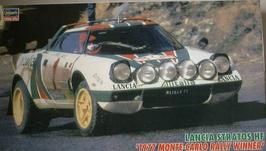Lancia Stratos HF Gr.4 - Montecarlo 1977 - Alitalia - Hasegawa 25032