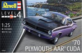 Plymouth AAR Cuda (1970) - Revell 07664