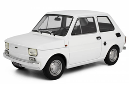 FIAT 126 (1972) - BIANCO - LAUDORACING 1/18