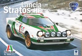 Lancia Stratos HF Gr.4 - Montecarlo 1977 - Alitalia - Italeri 3654