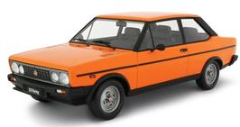 FIAT 131 RACING (1978) - ARANCIO - LAUDORACING 1/18