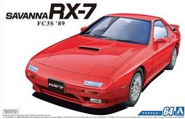 Mazda Savanna RX 7  (1989) - Aoshima 64