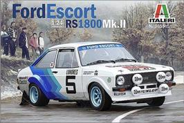Ford Escort MKII RS 1800 - Ford - Monte Carlo (1979) - Italeri 3655