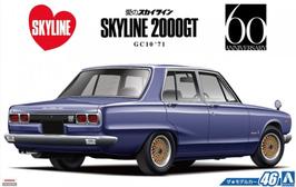 Nissan Skyline 2000GT GC10 (1971) - Aoshima 53478
