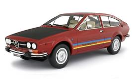 ALFA ROMEO ALFETTA GTV 2.0 TURBODELTA (1979) - ROSSO - LAUDORACING 1/18