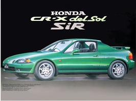 Honda CRX Del Sol SiR (1992) - Fujimi 03355