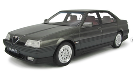 ALFA ROMEO 164 3.0 V6 Q.V. (1993) - GRIGIO - LAUDORACING 1/18