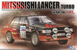 Mitsubishi Lancer Turbo Gr.4 - Advan - Rac Rally 1984 - Aoshima Beemax B24022