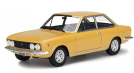 FIAT 124 SPORT COUPE' (1969) - GIALLO - LAUDORACING 1/18