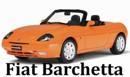FIAT BARCHETTA - ARANCIO - OTTOMOBILE 1/18
