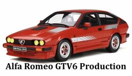 ALFA ROMEO GTV6 PRODUCTION (1981) - OTTOMOBILE 1/18