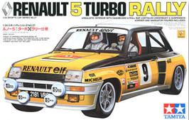 Renault 5 Turbo Gr.4 Rallye Montecarlo (1981) - Elf - Tamiya 24027