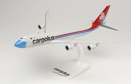"""Boeing 747 - 8F - Cargolux """"not without my mask"""""""