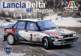 Lancia Delta HF Integrale - Montecarlo 1990 - Martini - Italeri 3658