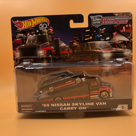 #3 NISSAN SKYLINE VAN & CARRY ON