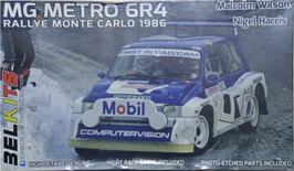 MG Metro 6R4 Gr.B - Rally Monte Carlo (1986) - Computervision - Belkits BEL015