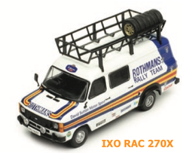 Ford Transit MKII - Rally Assistance David Sutton Rothmans - 1979 WRC - IXO RAC 270X