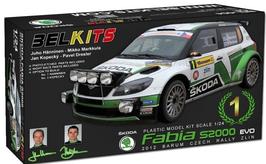 Skoda Fabia S2000 - Skoda Motorsport - Barum Czech Rally (2012) - Belkits BEL004