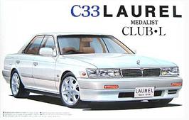 Nissan Laurel C33 Medalist Club- L (1989) - Aoshima 051603