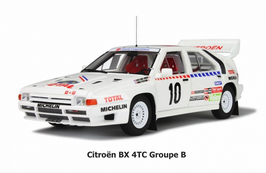 "CITROEN BX 4TC Gr.B CITROEN SPORT ""SWEDISH RALLY 1986 - J.C.ANDRUET"" -- OTTOMOBILE cod. OT166"