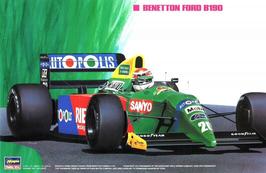 Benetton Ford B190 - Formula 1  (1990) - Hasegawa 20340