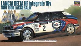 Lancia Delta HF Integrale GR.A - 1000 Lakes 1991 - Martni - Hasegawa 20289