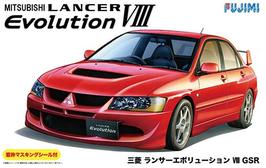 Mitsubishi Lancer Evo VIII (2002) - Fujimi ID-180