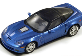 CHEVROLET CORVETTE C6 ZR1 (2010) - BLUE