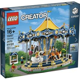 Lego 10257 - Treehouse - Giostra Carousel