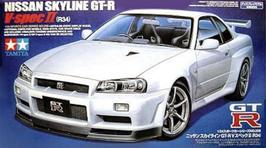 Nissan Skyline GT-R R34 (2007) - Tamiya 24258