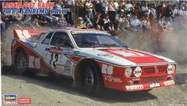 Lancia 037 Gr.B - Sanremo 1983 - R6 - Hasegawa 20299