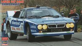 Lancia 037 Gr.B - Tour de Corse 1984 - Chardonnet - Hasegawa 20264