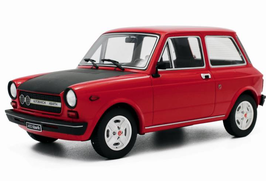 AUTOBIANCHI A112 ABARTH 70HP (1975) - ROSSO - LAUDORACING 1/18