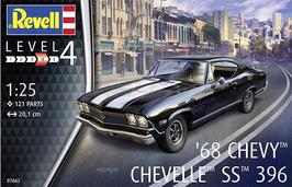 Chevrolet Chevelle SS 396 (1968) - Revell 07662