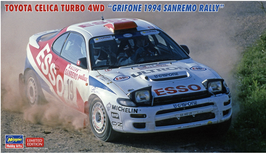 Toyota Celica GT4 ST185 Gr.A (1994) - Grifone - Hasegawa 20466