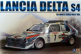 Lancia Delta S4 Gr.B - Montecarlo 1986 - Martini - Aoshima Beemax 24020