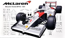 McLaren MP4/6 F1 1991 - Fujimi GP-25