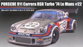 Porsche 911 RSR Turbo Le Mans '74 - Martini - Fujimi 126487