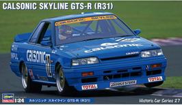 Nissan Skyline GTS R (R31) Gr.A JTCC 1988 - Calsonic - Hasegawa HSC 27
