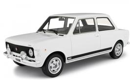 FIAT 128 RALLY (1971) - BIANCO - LAUDORACING 1/18