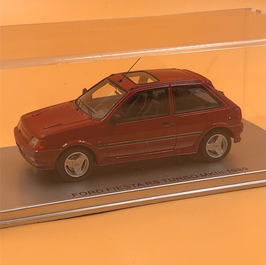 FORD FIESTA MK3 RS TURBO (1989) - RED
