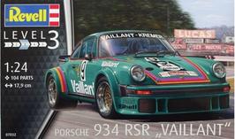 Porsche 934 RSR - Vaillant - Revell 07032