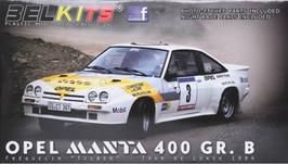 Opel Manta 400 Gr.B - Mobil - Rally Tour de Corse (1984) - Belkits BEL-008