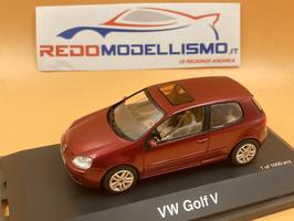 VOLKSWAGEN GOLF V (2003) - ROSSO