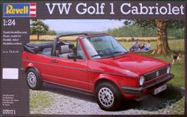Volkswagen Golf I Cabriolet (1976) - Revell 07071