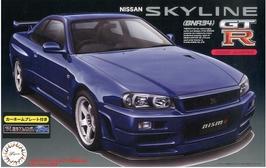 Nissan Skyline GT-R R34 (2007) - Fujimi 03979