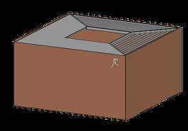 feuerwürfel cubo 100.80